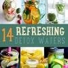 DIY Detox con estos fácil de hacer Refrescante Detox Aguas