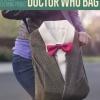 DIY de Doctor Who La bolsa de libros de la ropa Upcycled | Asas personalizada Bolsas