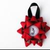 DIY bordado ornamento de la Navidad del arco