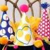 Partido bordado DIY Sombreros