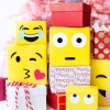 DIY Emoji papel de regalo