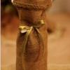 DIY Bolsas de regalo para botellas