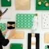 DIY Holiday Gift Box Telón de fondo