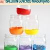 DIY Mason Jar y globo Oficios Tutorial