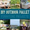 Bricolaje exterior paletas Proyectos de muebles