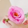 Lápices DIY flor de papel para la ocasión más dulce