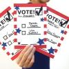 DIY Las papeletas de voto para niños para pintar