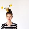 DIY Reina Disfraz de abeja