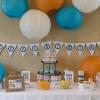 DIY fiesta de cumpleaños del robot