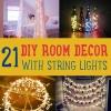 Habitación DIY decoración con luces de la secuencia Usted puede utilizar durante todo el año