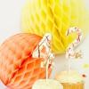 Cake Toppers pintura de la salpicadura de bricolaje para la ocasión más dulce