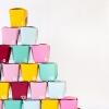 DIY Take-Out Box Calendario de Adviento