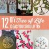 Árbol de bricolaje de Ideas vida para hacer