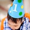 Dylan Bajo el Partido Mar primer cumpleaños