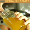 Fat Burning Detox Té Receta: VIENTRE DIY TRIM!