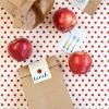 Las etiquetas para imprimir gratis Bolsa School Lunch