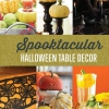 Tabla de Halloween Decoración | Ideas de bricolaje Spooktacular