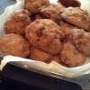 Cómo cocer al horno ChocChips Cookies, W / coco almendra sabor.