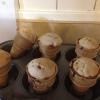 Cómo cocer al horno las magdalenas en un cono de helado