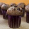 Cómo cocer al horno oscuras Muffins de chocolate lavanda