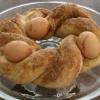 Cómo cocer al horno huevos en un nido Pan