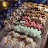 Cómo cocer al horno pimienta y escarchados del jengibre Galletas de torta dulce
