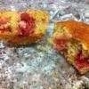 Cómo cocer al horno Muffins Strawberry Pecan Miel