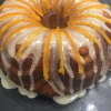 Cómo cocer al horno el último de Orange Cake