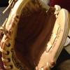 Cómo romper en un guante de béisbol