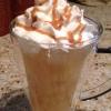 Cómo Brew caramelo de sidra de manzana Frappuccino
