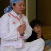 ¿Cómo se calmara su hijo Uso de Yoga y Respiración