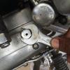 Cómo cambiar la caja de engranajes de líquido en Royal Enfield STD 350