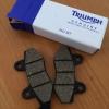 Cómo cambiar traseras Pastillas de freno sobre Triumph Bonneville