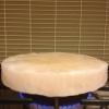Cómo cocinar un filete Hanger en un bloque de sal del Himalaya