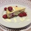 Cómo cocinar Frambuesa salvaje pastel de queso del chocolate de Cora