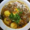 Cómo cocinar la cebolla tomate huevo Curry (estilo indio)