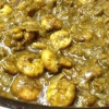Cómo cocinar gambas frío ajo Curry