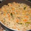 Cómo cocinar gambas arroz frito