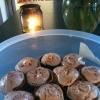 Cómo cocinar calabaza magdalenas especias con canela glaseado