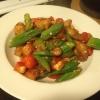 Cómo cocinar simple Okra Tomates Pollo