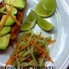 Cómo cocinar Sriracha Pollo Con Pepino lima Ensalada