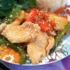 Cómo cocinar Salteado Sesame pollo y hortalizas