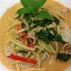 Cómo cocinar pollo al curry rojo tailandés
