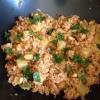 Cómo cocinar Vegetariana Piña arroz frito con tofu