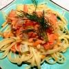 Cómo cocinar Zesty Piñones salmón ahumado Linguine