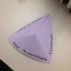 Cómo crear una pirámide plegable