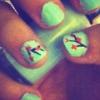 Cómo crear Nails Arizona Té Verde
