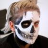 Cómo crear realista de maquillaje cráneo