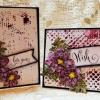 Cómo crear tarjetas impresionante con Sellos y pintura