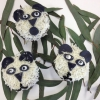 Cómo decorar una magdalena como Panda